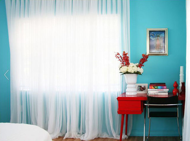 attractive blue walls by productbureau.net