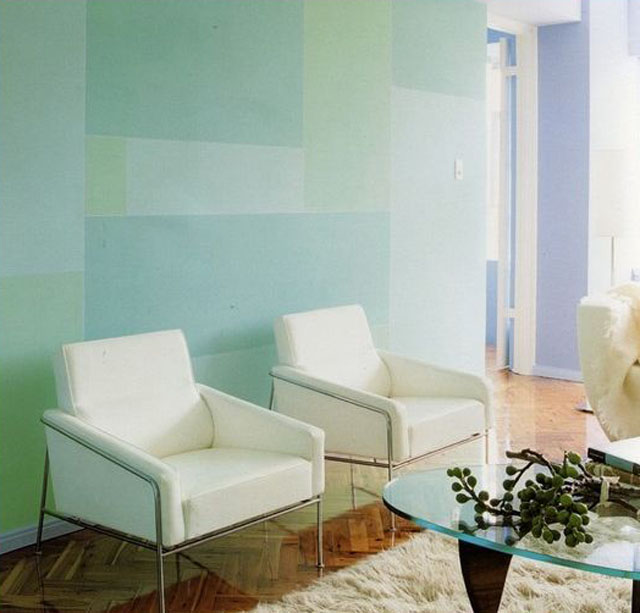 Play with wall color! by Scott Weston Architecture