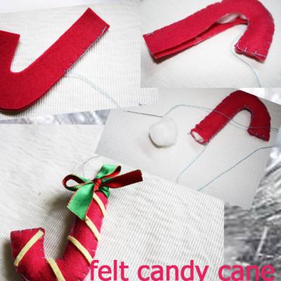 DIY Felt Christmas Ornament