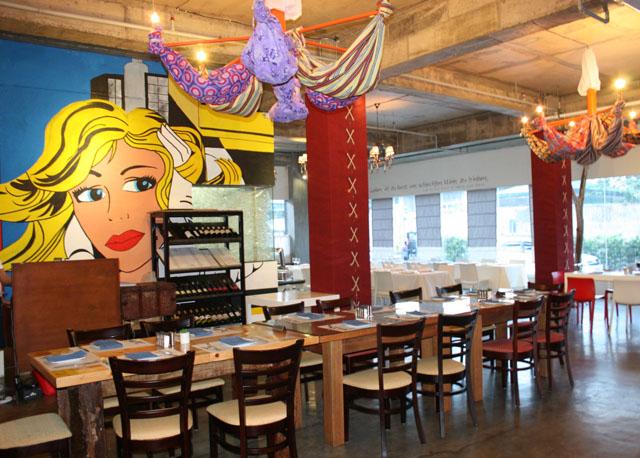 Rica's their restaurant