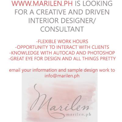 Marilen.ph is hiring!