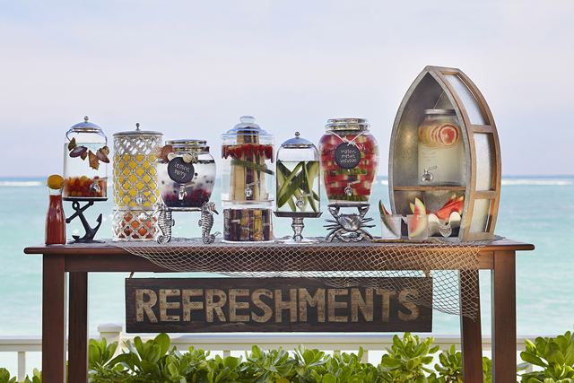 I can't wait to entertain using these pretty drink dispensers.