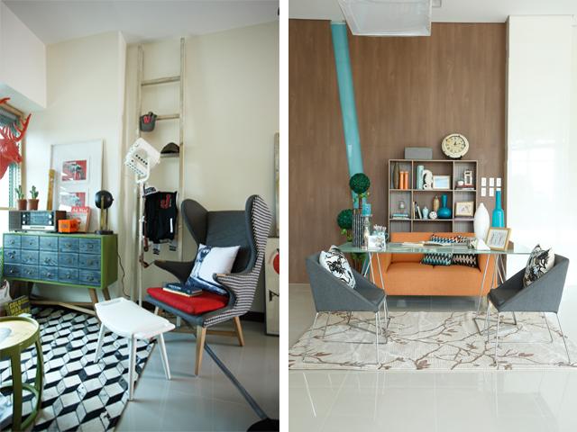 Photos from the design of Vera Villarosa and Wilmer Lopez