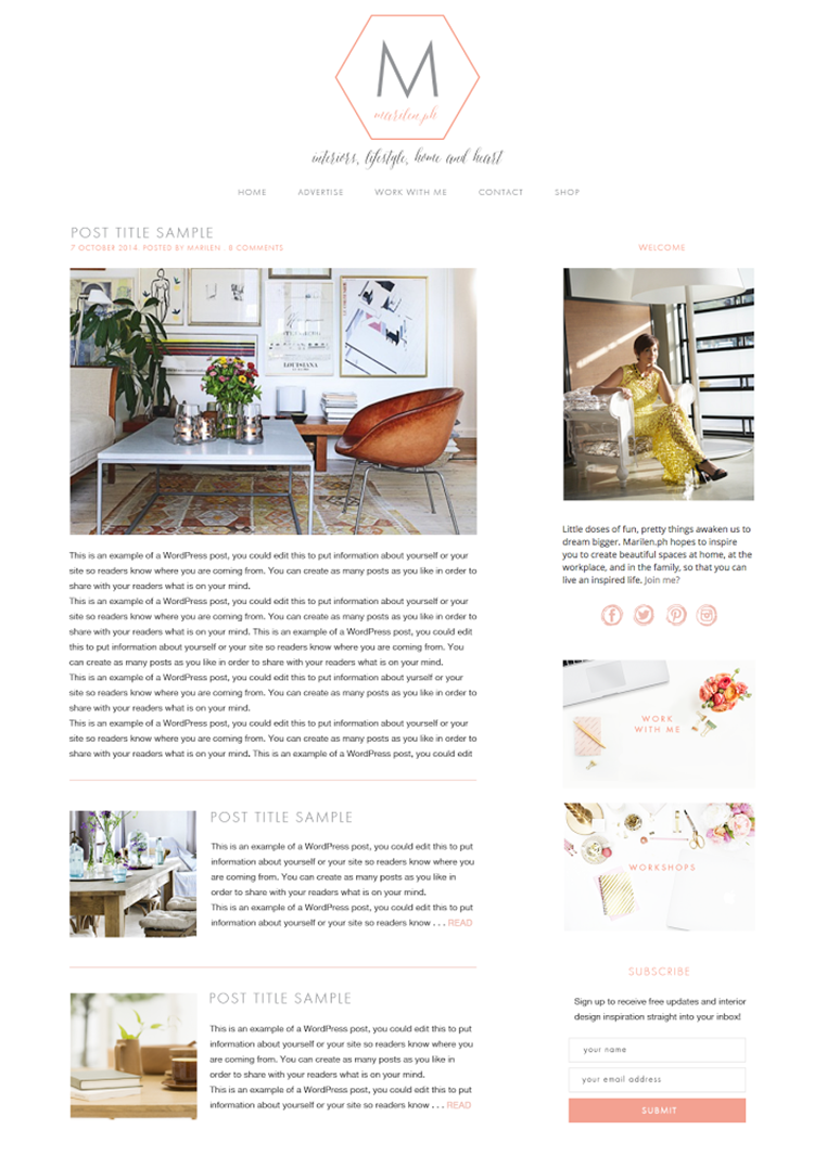 How My Blog Started and A New Home - MarilenStyles com