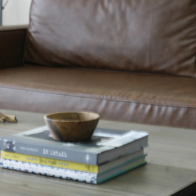 Styling Around Leather Sofas