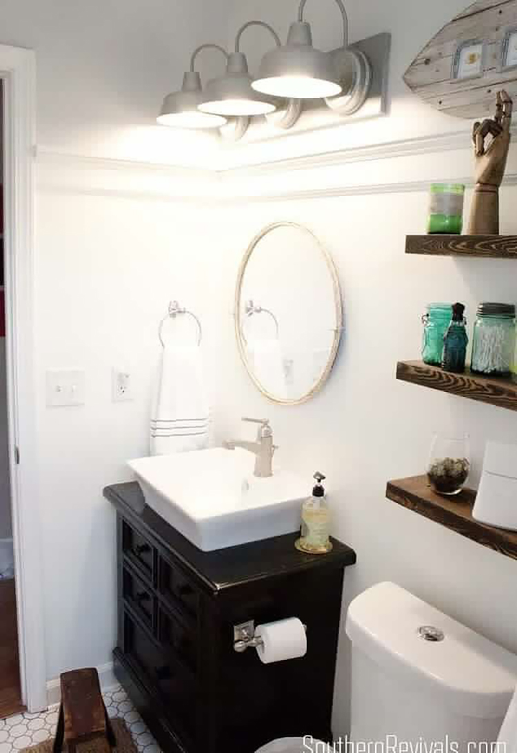 mesmerizing nautical bathroom makeover | Storage Ideas and Styling Tips for Small Bathrooms ...