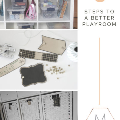 3 Steps To A Better Playroom