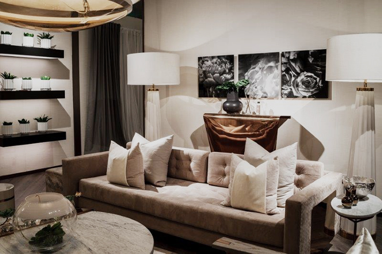 Kelly Hoppen British Interio Designer launches collection in
