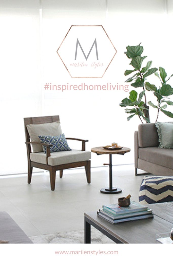 Join the weekly #inspiredhomeliving challenge on Instagram hosted by Interior Stylist Marilen of www.marilenstyles.com and see your HOUSE transform into  the HOME you want!