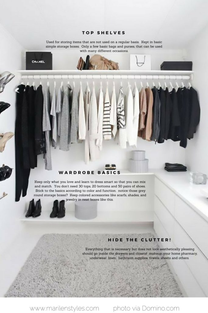 how to achieve a minimalist wardrobe