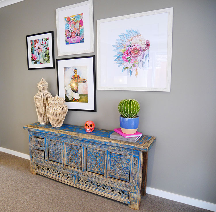 How to add color into your home interiors.