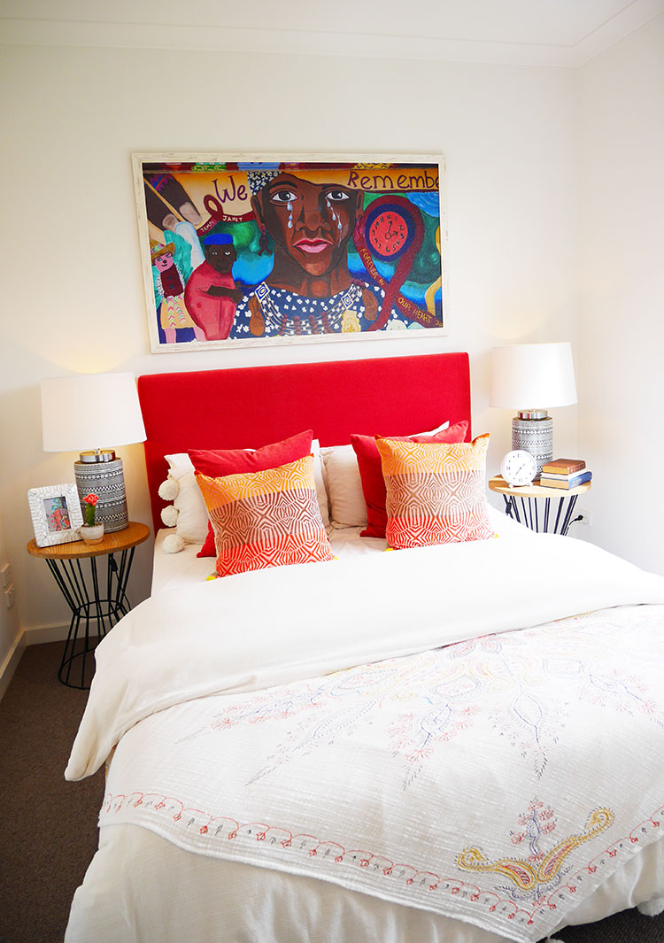 how to add color into your interiors and home.