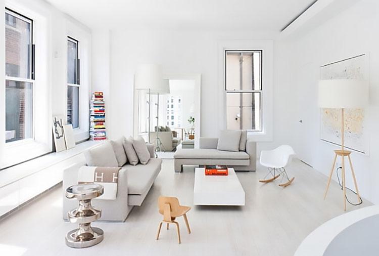 how to keep a minimalist living room