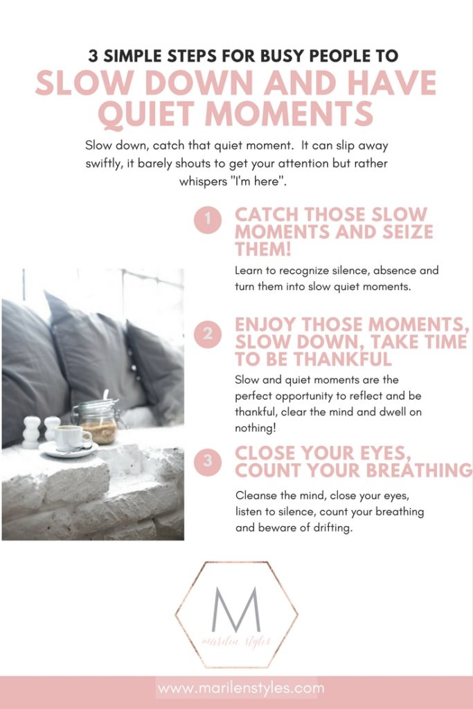 how to slow down, slow living, meditation