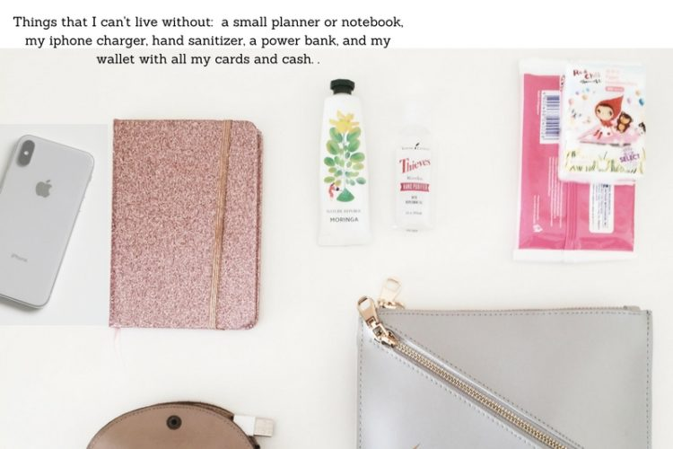 Everyday Handbag essentials/ what's in your handbag