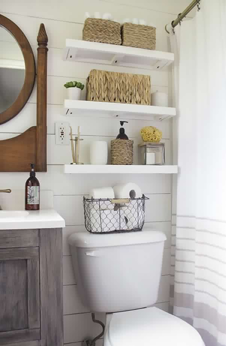 Storage Ideas and Styling Tips for Small Bathrooms   MarilenStyles.com