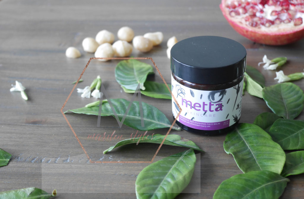 product styling and photography for skincare brand