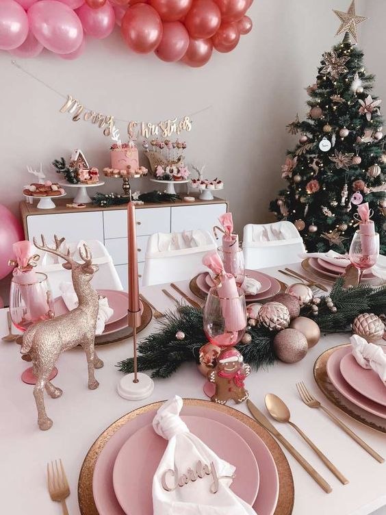 Christmas Dinner Table Decorating Ideas To Set The Holiday Mood Marilenstyles Com